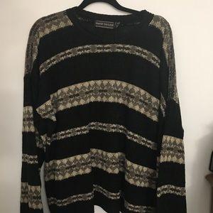 NWOT Aztec grandpa sweater